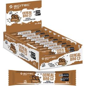 SCITEC Cereal Bro Vegan Bar Box vegan 20x36g, Nut